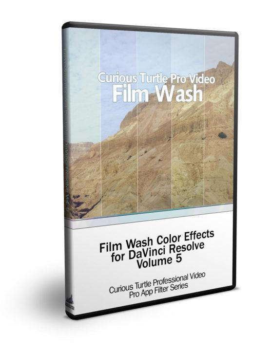 Film Wash for DaVinci Resolve Vol. 5