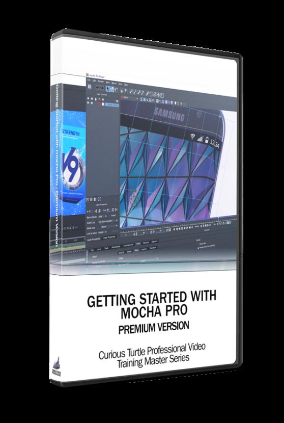 Getting Started with mocha Pro boxshot